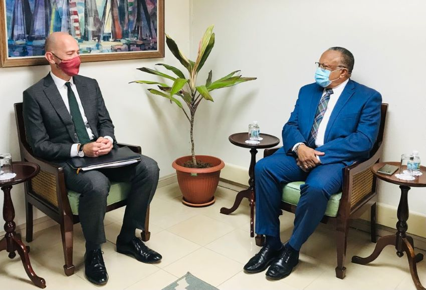 Barbados & UK Committed To Bilateral Relationship