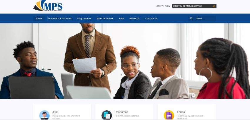 Ministry Of Public Service Launches New Website