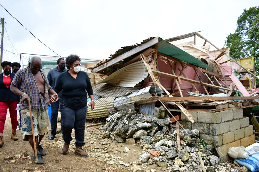 Work Started On Some Houses Damaged In Storm