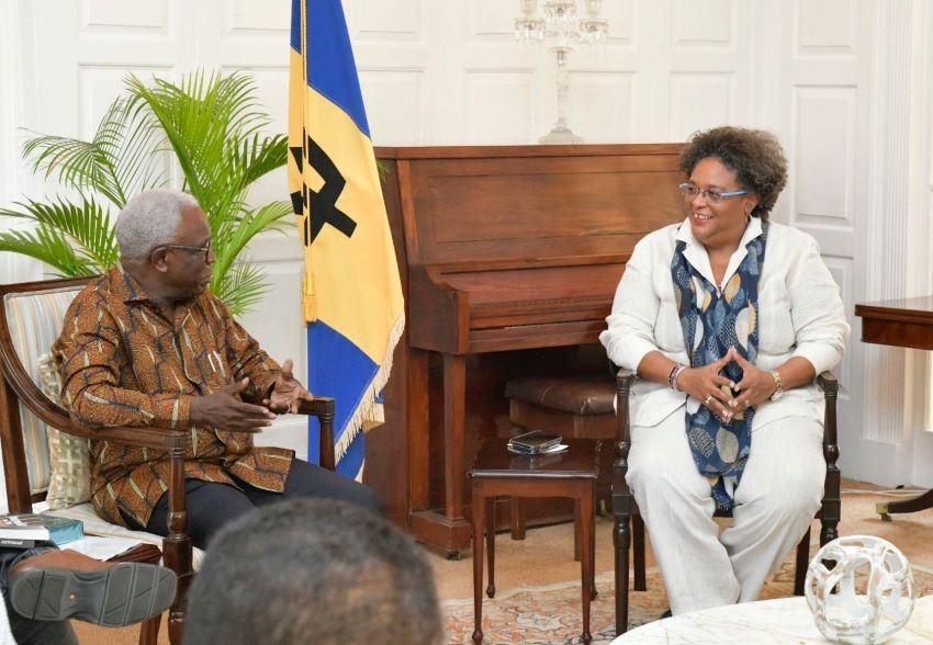 Barbados-Liberia Connection Discussed During Meeting