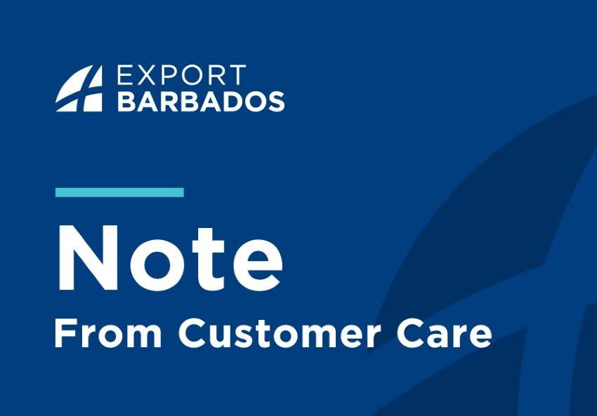 Notice From BIDC's Customer Care
