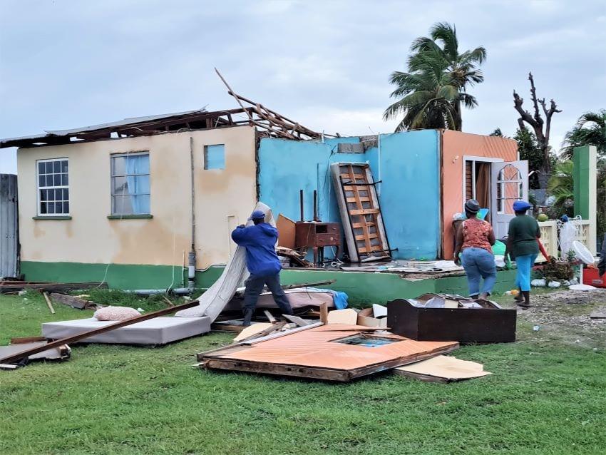 DEM Reports On Damage From Hurricane Elsa