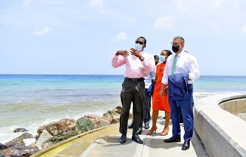 Alok Sharma Visits Richard Haynes Boardwalk
