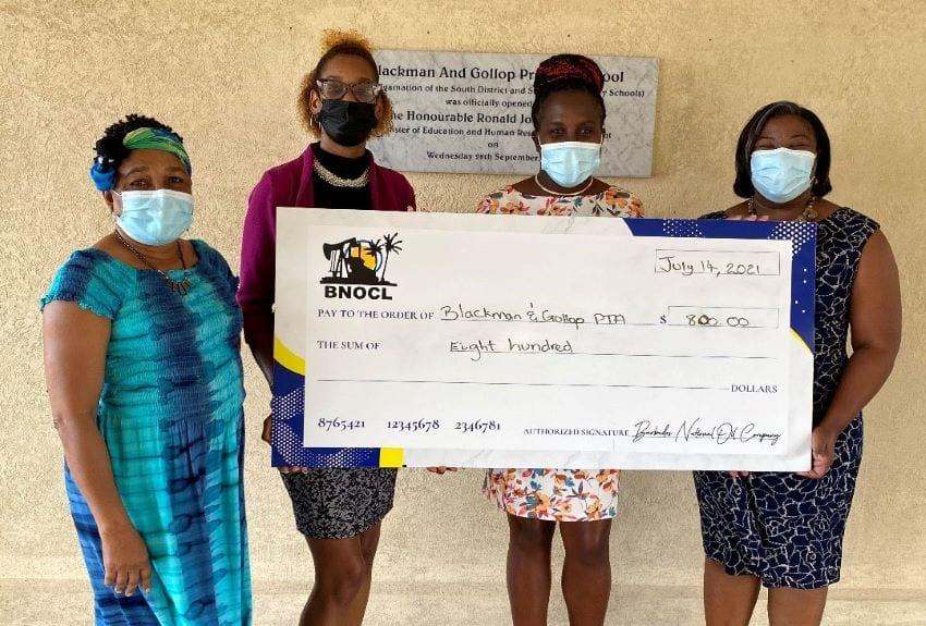 BNOCL Donates To Blackman & Gollop PTA