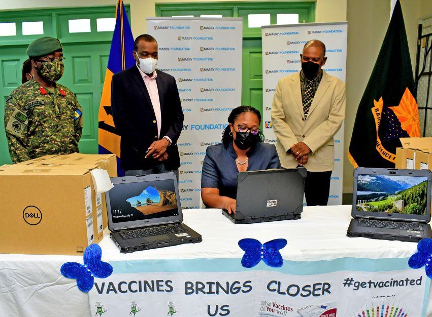 Massy Foundation Donates 27 Laptops