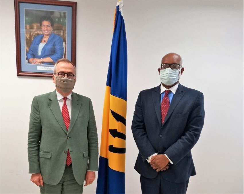 Attorney General &  French Envoy Hold Discussions