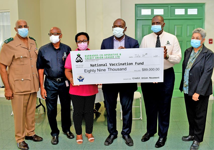 BCCUL Donates To National Vaccine Fund