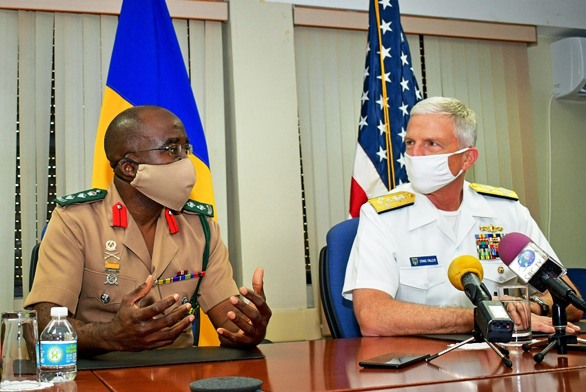 Barbados And USA To Strengthen Security Cooperation