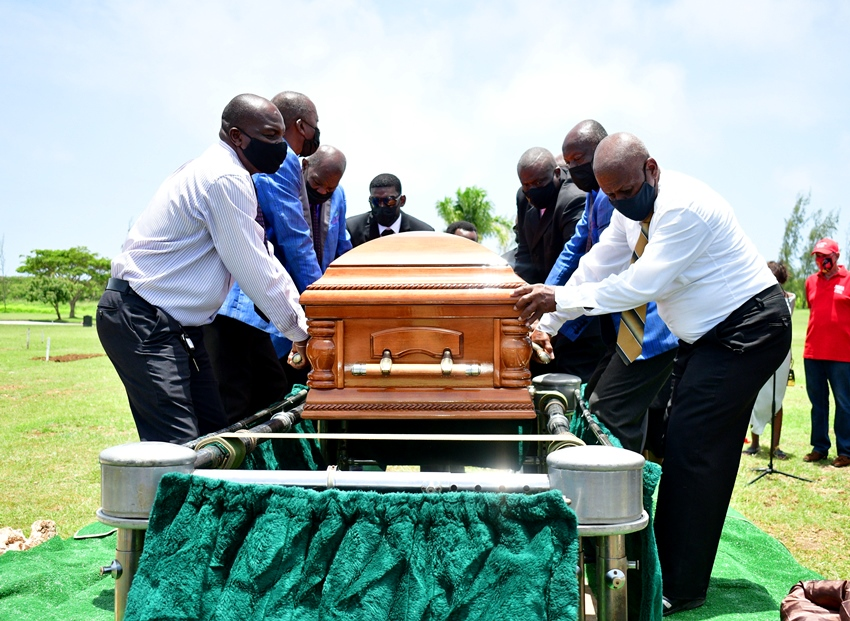 Supercentenarian Melville Williams Laid To Rest