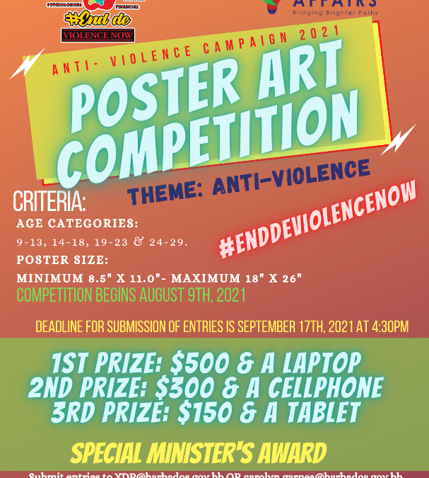 Anti-Violence Poster Art Competition