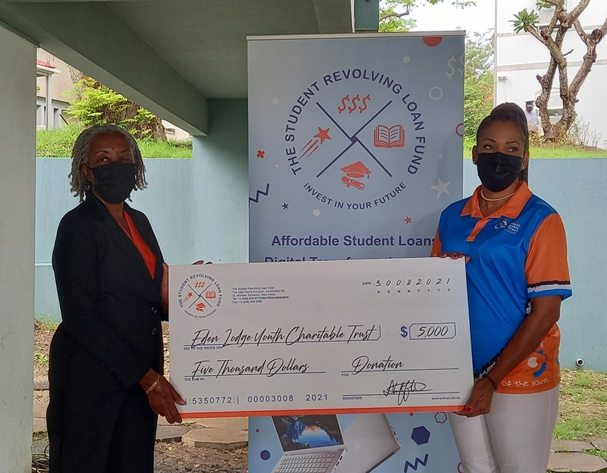 SRLF Makes Monetary Donation To Charity