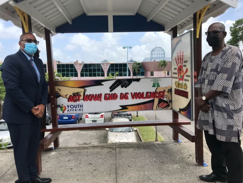 Bus Shelters Being Used In Anti-Violence Campaign