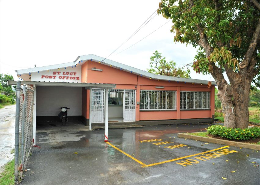 Temporary Closure Of St. Lucy Post Office