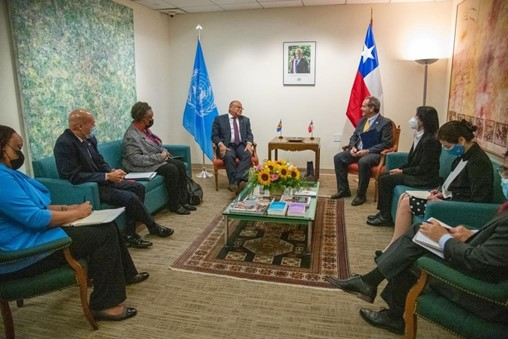Barbados & Chile To Ramp Up Cooperation