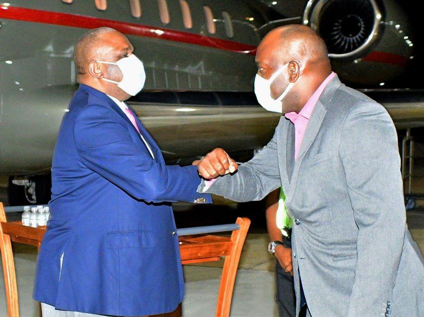 President Of Afreximbank Arrives In Barbados