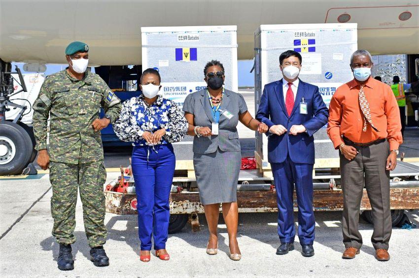 Barbados Boosts Its COVID-19 Vaccines Supply