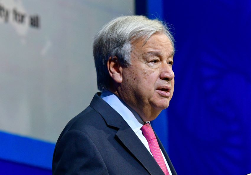 UN Secretary General Calls For Level Playing Field