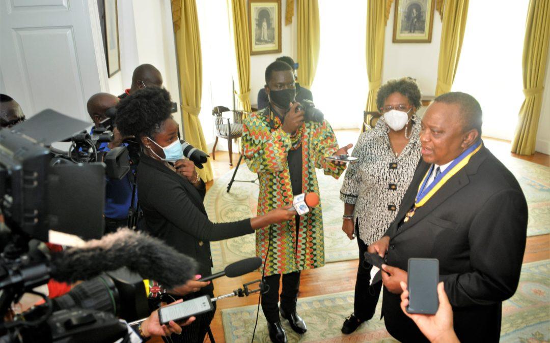 Barbados & Kenya Seeking To Enhance Relationship