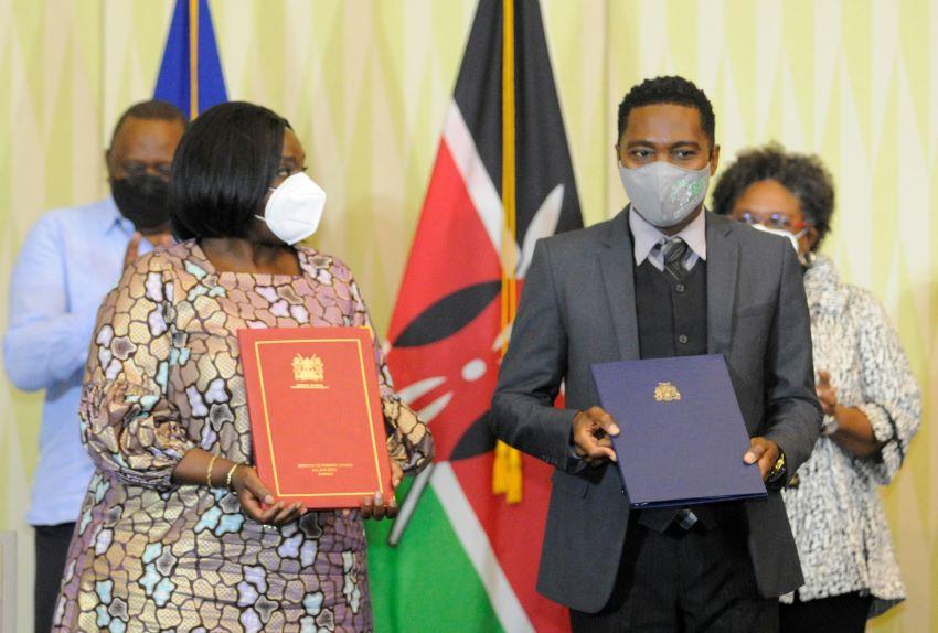 Barbados & Kenya Sign Three Agreements