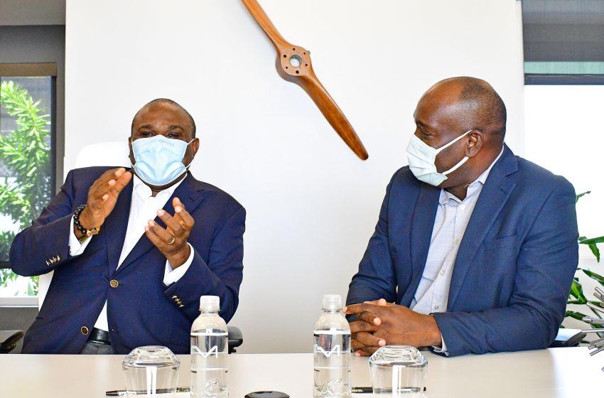 Visit Of Afreximbank Officials Productive