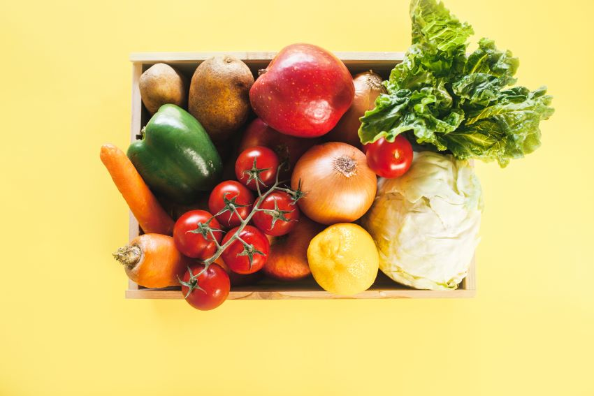 Donation Of Produce For World Food Day 2021