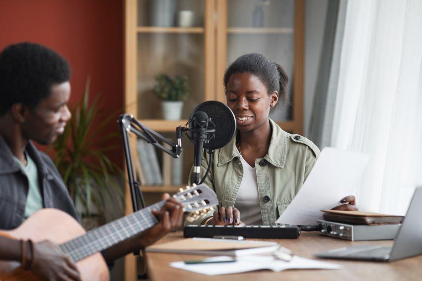 Music Distribution Platform For Artistes
