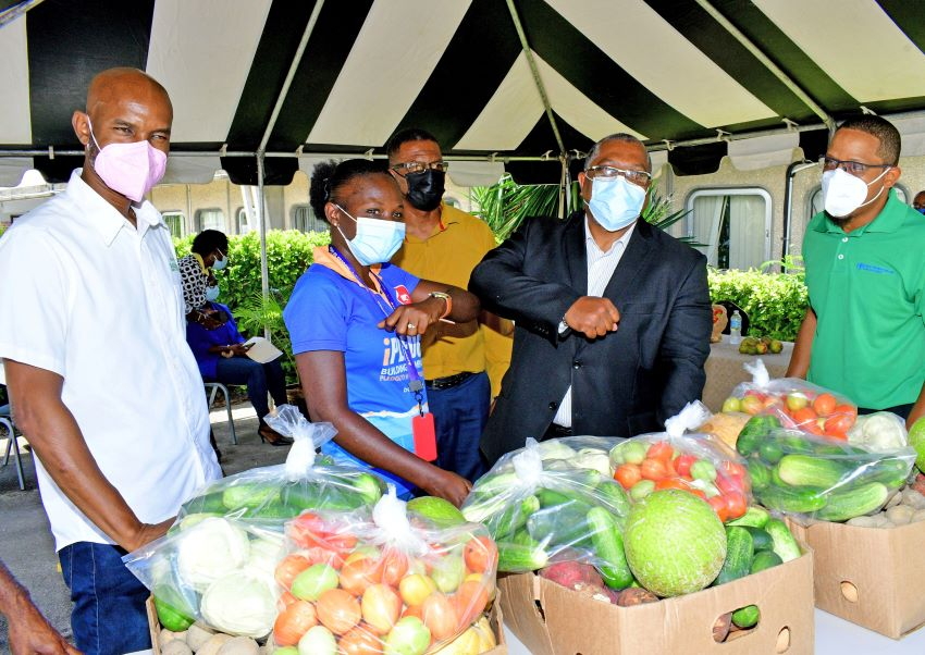 Presentation Of Produce In Keeping With SDGs